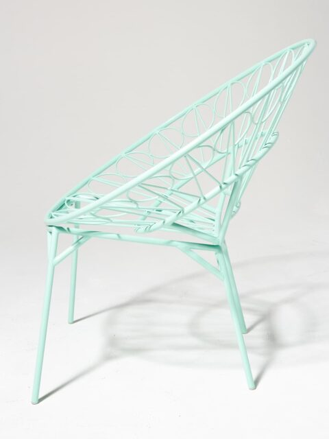 Alternate view 2 of Lori Mint Ring Chair