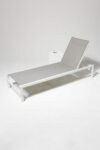 Alternate view thumbnail 1 of Bella White Frame Pool Lounge Chair