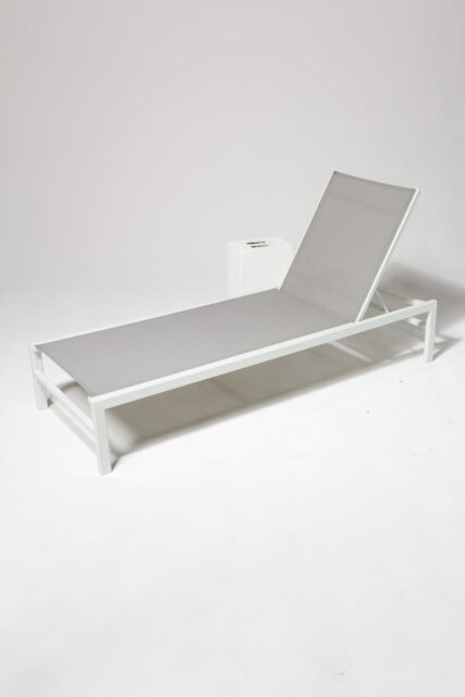 Alternate view 1 of Bella White Frame Pool Lounge Chair