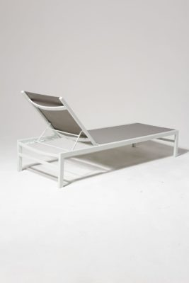 Alternate view 3 of Bella White Frame Pool Lounge Chair