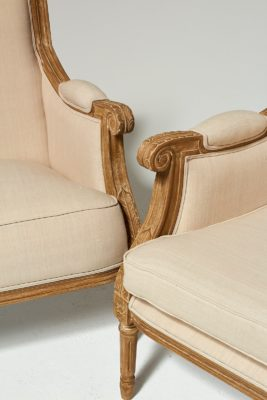 Alternate view 5 of Marielle Beige Cotton Love Seat and Chair Set