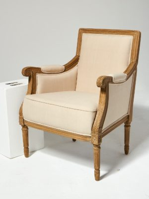 Alternate view 3 of Marielle Beige Cotton Love Seat and Chair Set