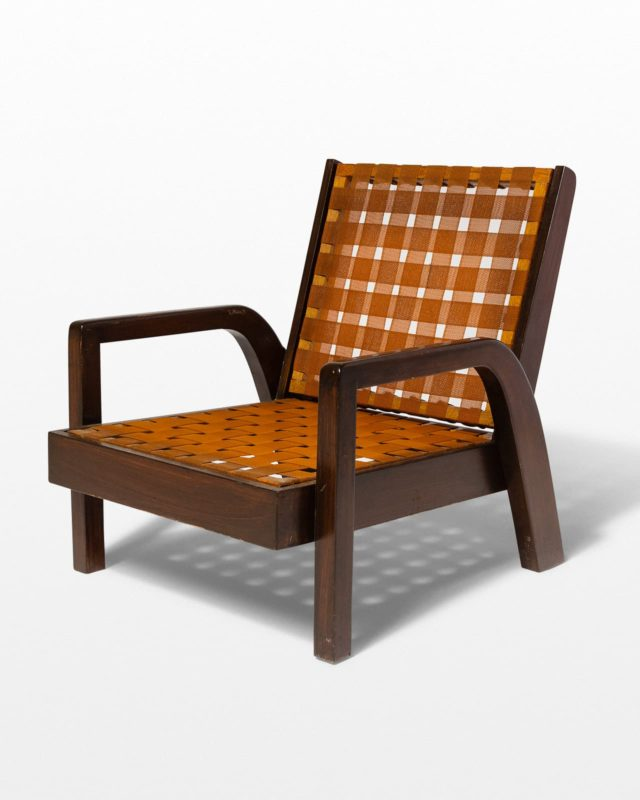 Front view of Castro Lounge Chair