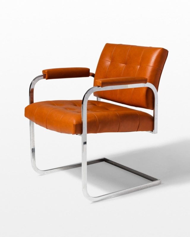 Front view of Lark Cantilever Chair