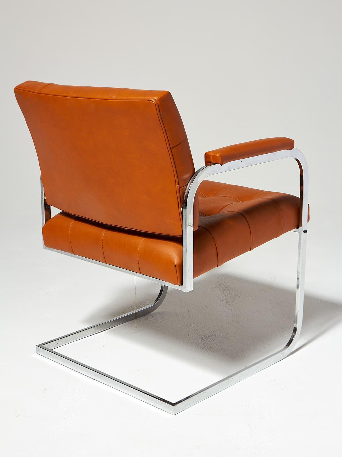 Ch539 Lark Cantilever Chair Prop Rental Acme Brooklyn