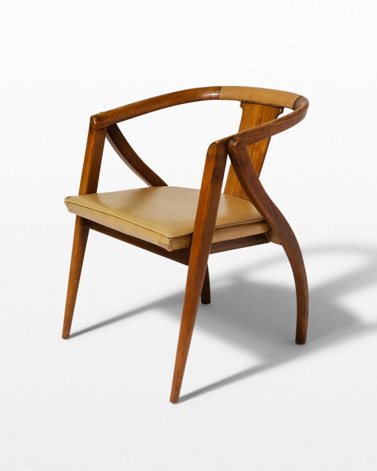 Front view of Zag Occasional Chair