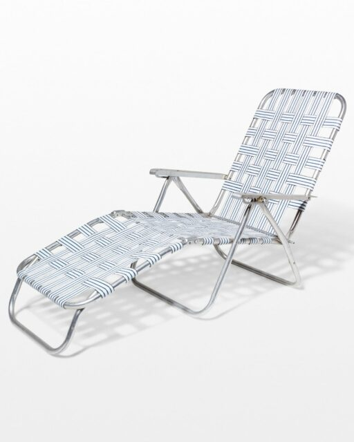 Front view of Barton Beach Lounge Chair