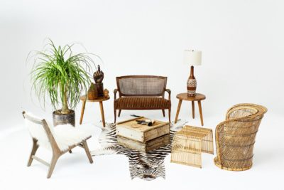Front view of Hendricks Seating Collection