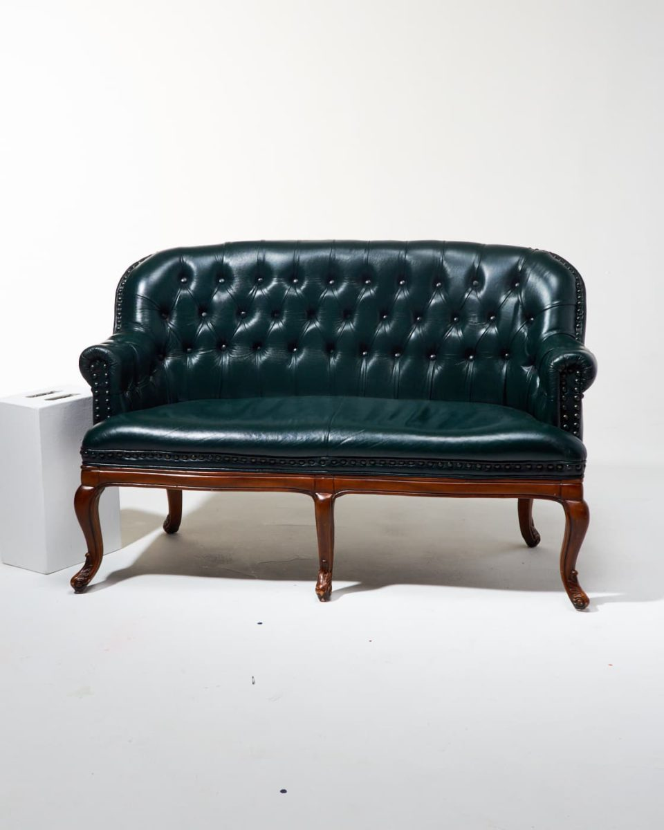 Alternate view 1 of Freeman Chesterfield Settee