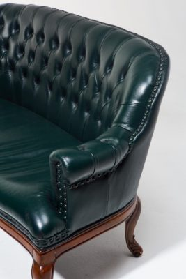 Alternate view 4 of Freeman Chesterfield Settee