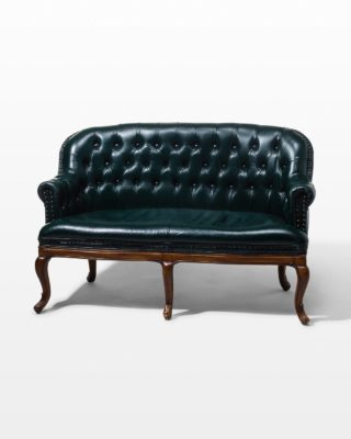 Front view of Freeman Chesterfield Settee