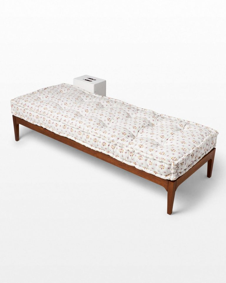 Front view of Camden Daybed Frame with Cairo Mattress