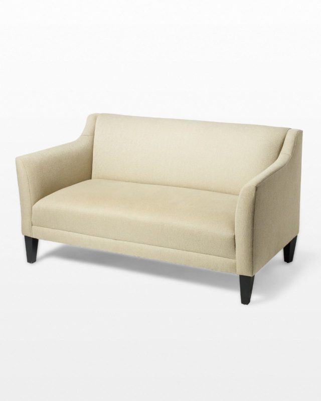 Front view of McCain Love Seat