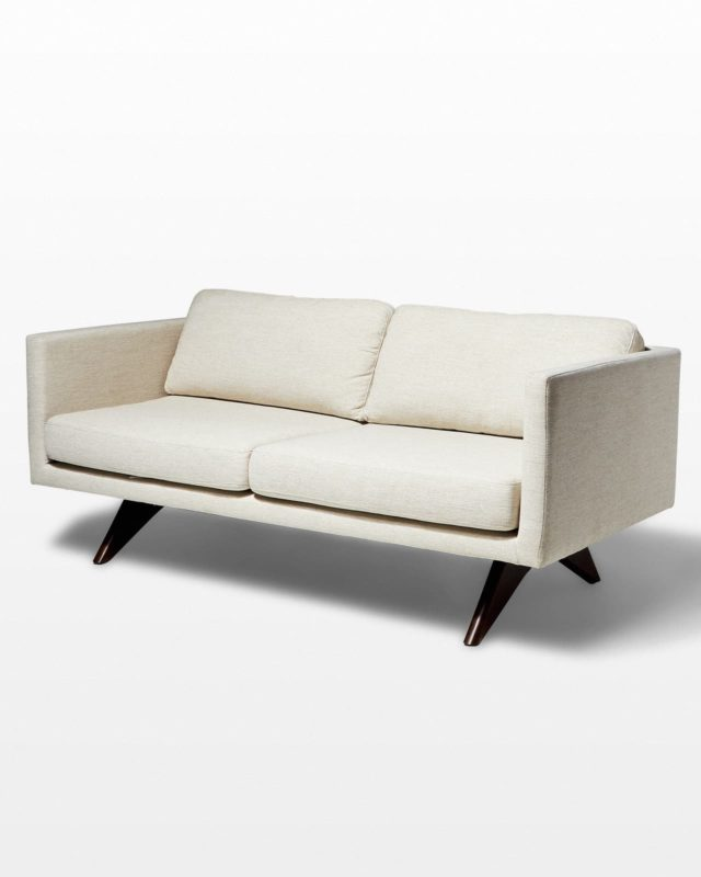 "Front view of 74"" Olean Sofa"