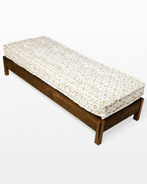 Front view of Pratt Daybed Frame with Cairo Mattress