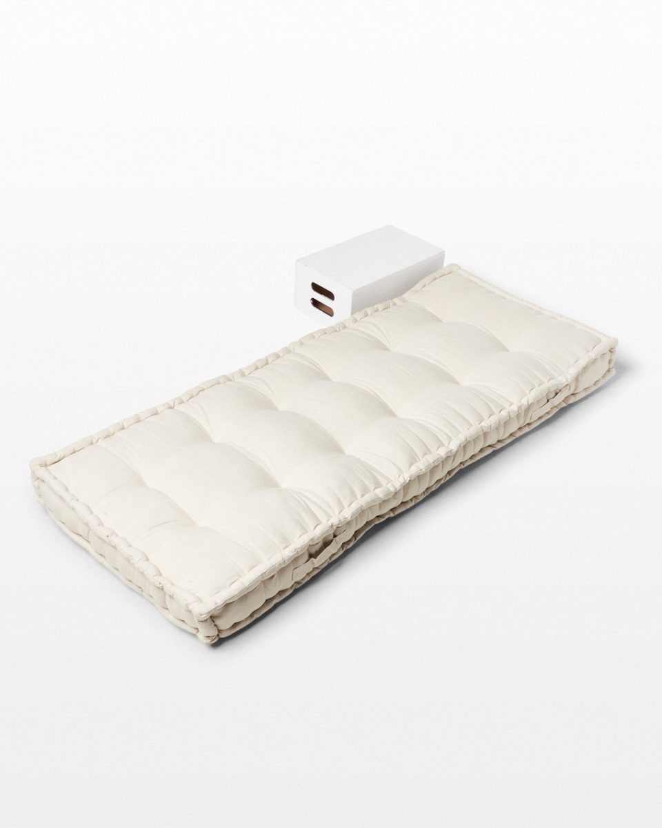 Front view of Stowe Tufted Fabric Mattress