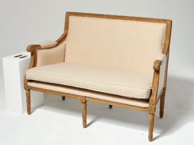 Alternate view 4 of Marielle Beige Cotton Love Seat and Chair Set