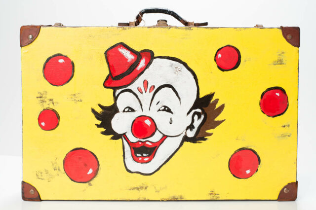 Alternate view 1 of Clown Suitcase