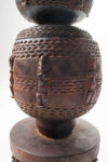 Alternate view thumbnail 2 of Carved African Planter Vessel