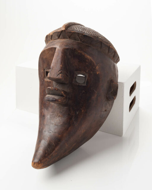 Front view of Half Moon Mask