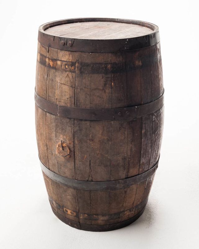 Front view of Dale Barrel