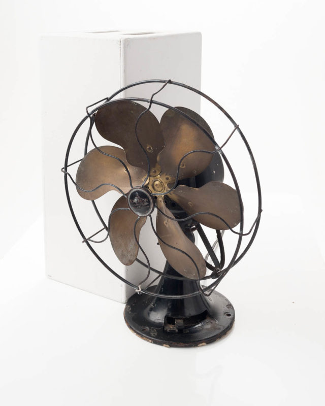 Front view of Antique Emerson Table Fan