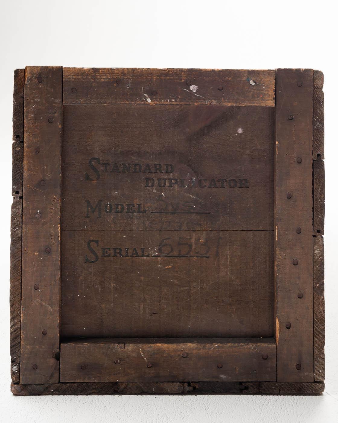 Fa012 Solid Wooden Crate Prop Rental Acme Brooklyn