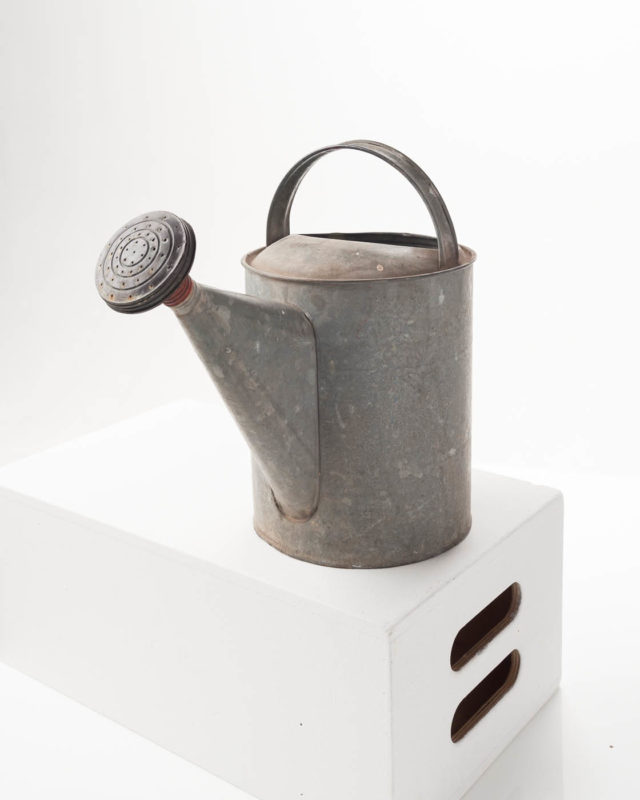 Front view of Metal Watering Can