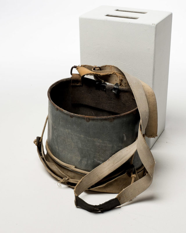 Front view of Apple Bucket