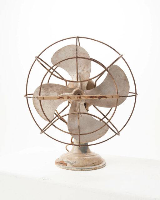 Alternate view 1 of Small Antique Tabletop Fan