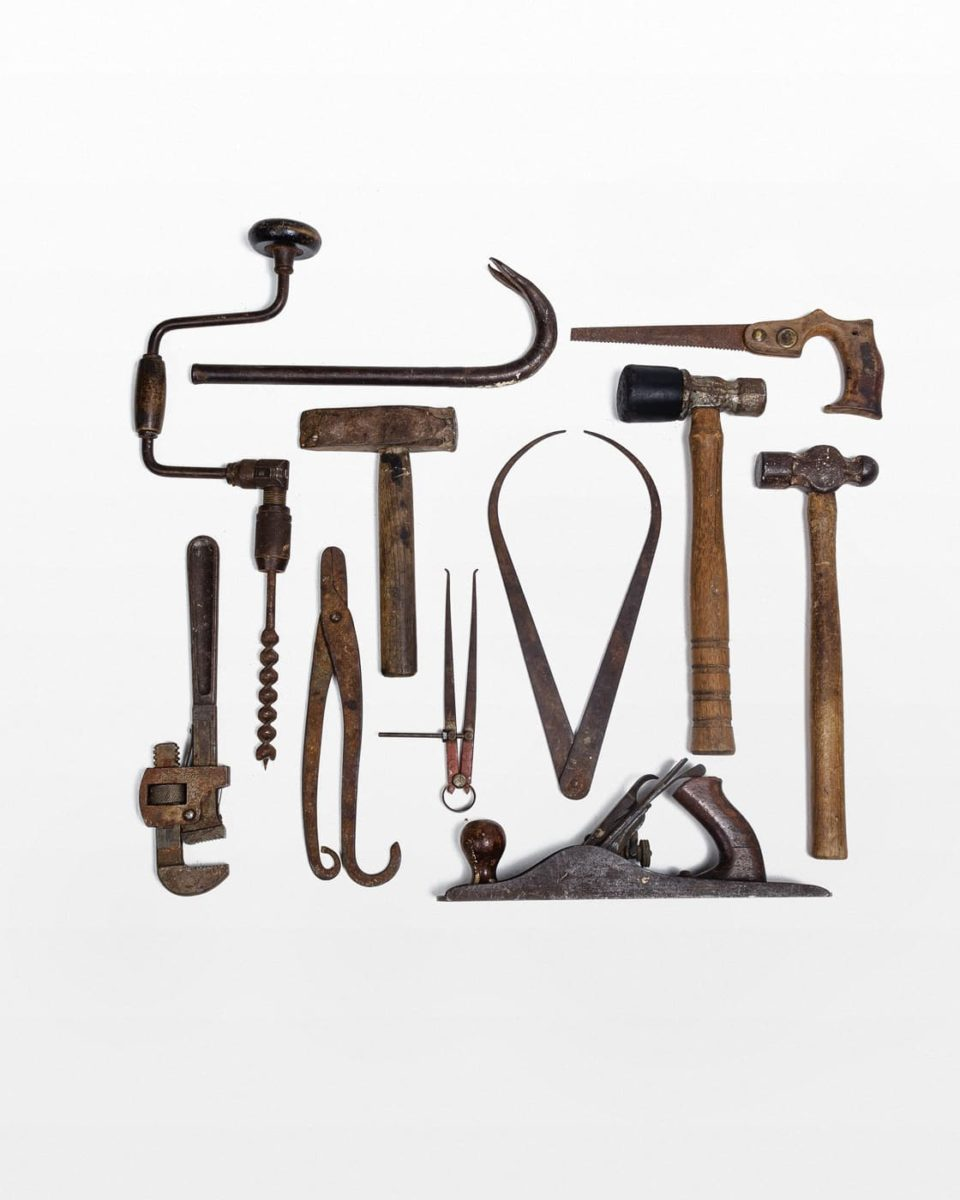 Front view of Set of Tools