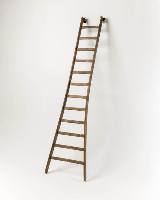 Front view of 10 Foot Flared Cortland Ladder