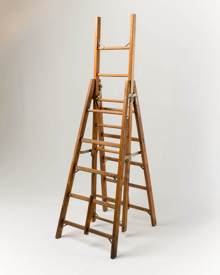 FA059 Jonathan A Frame with Extension Ladder Prop Rental | ACME Brooklyn