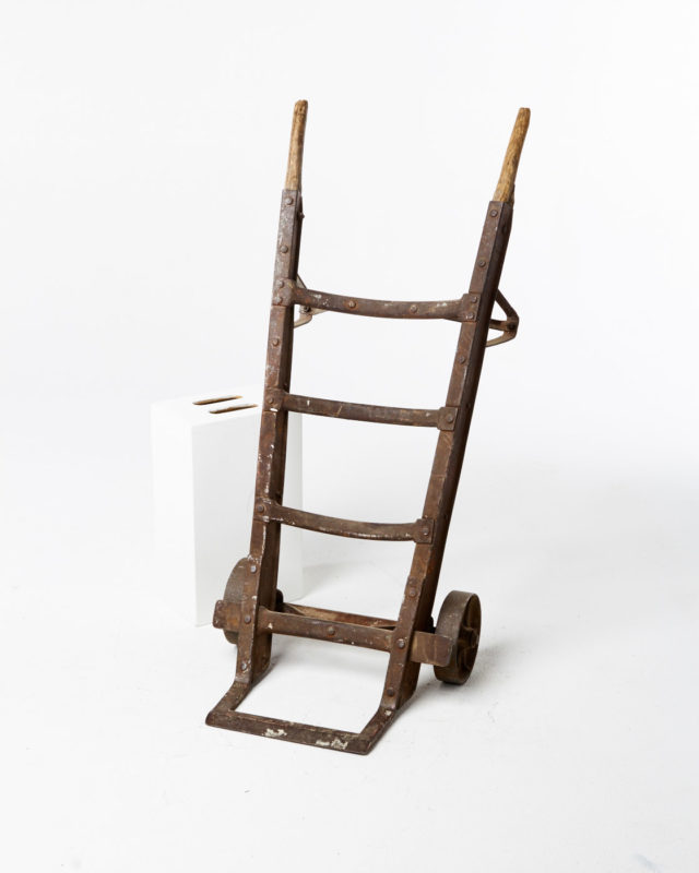 Front view of Antique Hand Truck