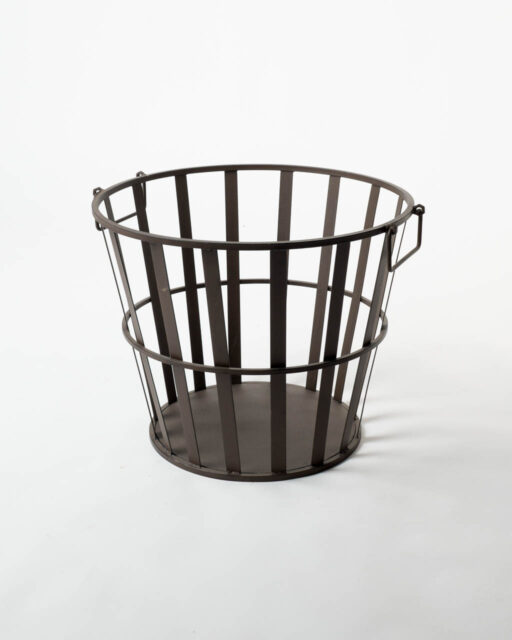 Front view of Metal Basket