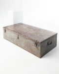 Front view thumbnail of Large Barron Steel Shipping Trunk