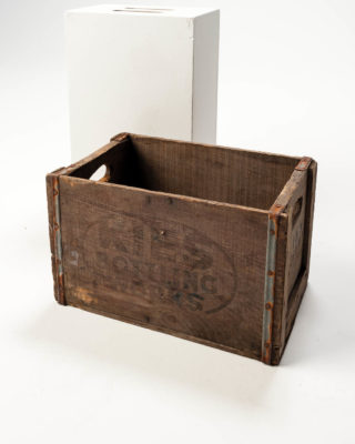 Front view of Pop Crate