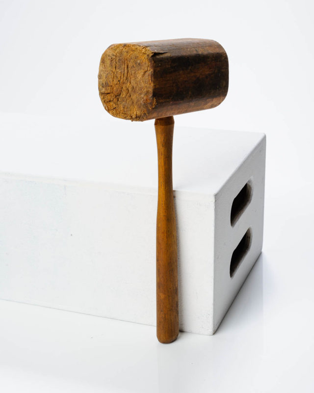 Front view of Hook Mallet