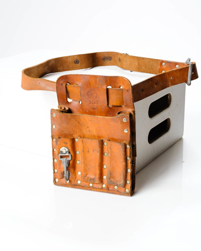Front view of Riveted Tool Belt