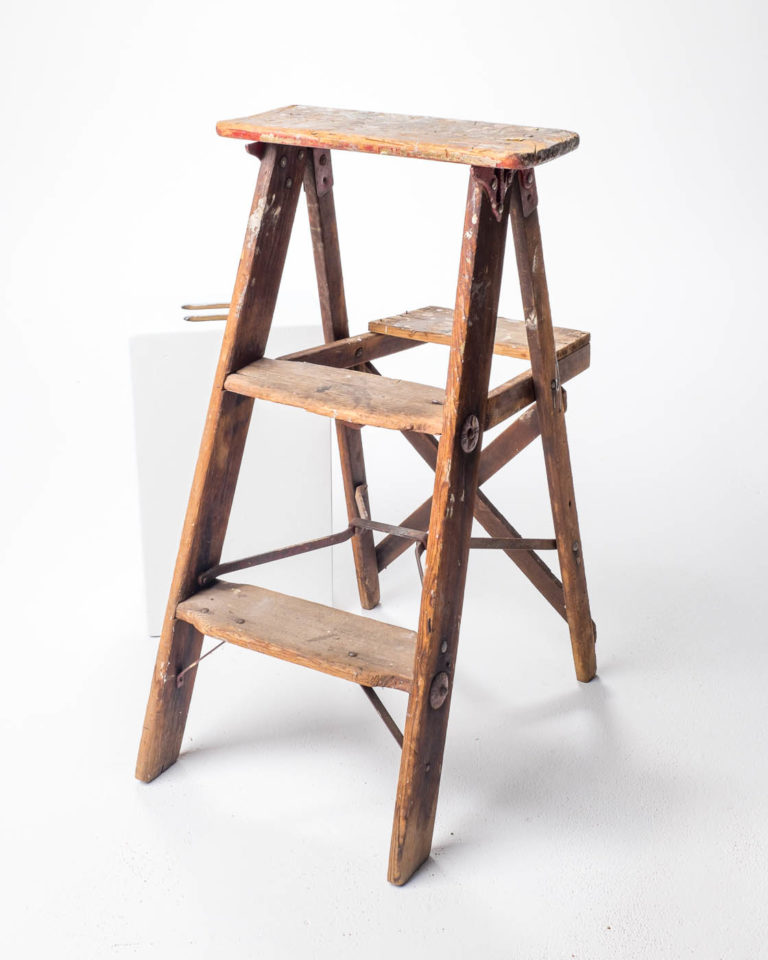 Front view of Ariane Stepstool Ladder