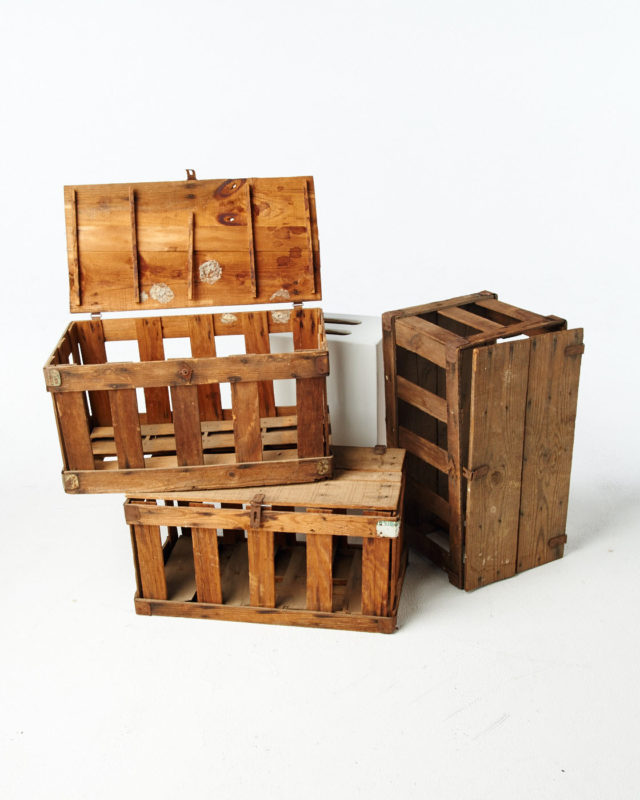 Front view of Poppin Crates