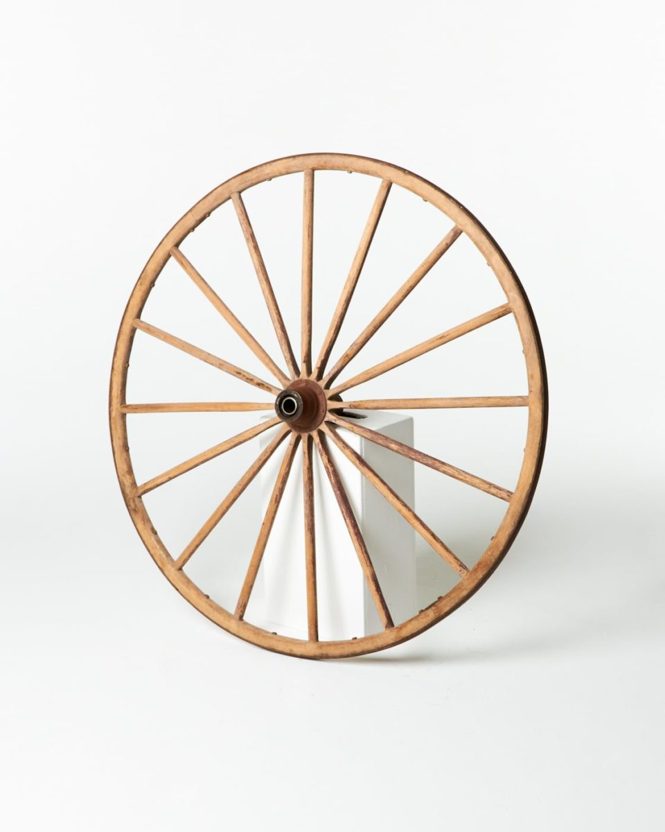 Front view of Middlegate Large Wagon Wheel