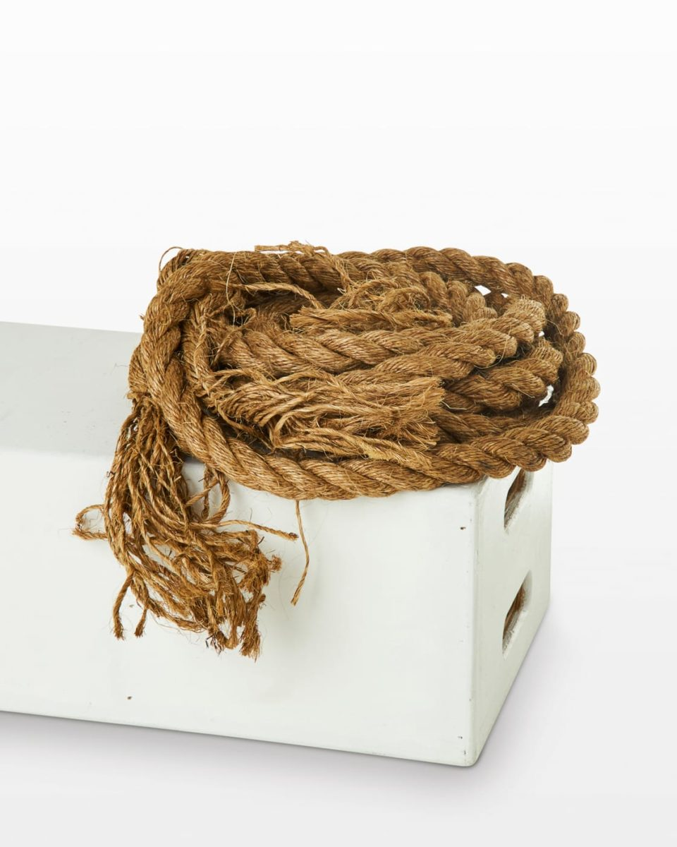 Front view of Frayed Sparks 18 Foot Rope