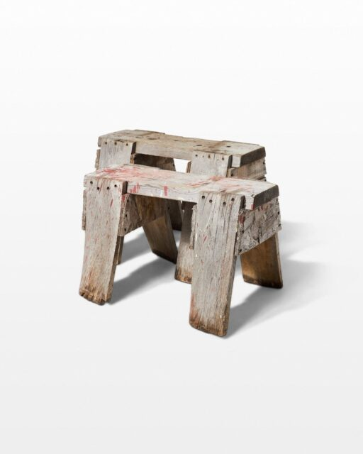Front view of Brewer Sawhorse Pair
