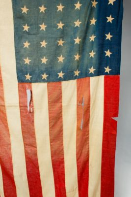 Alternate view 1 of 6 Foot Distressed Grant Flag