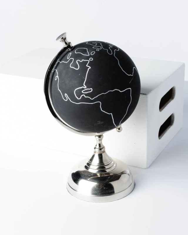 Front view of Chalkboard Globe