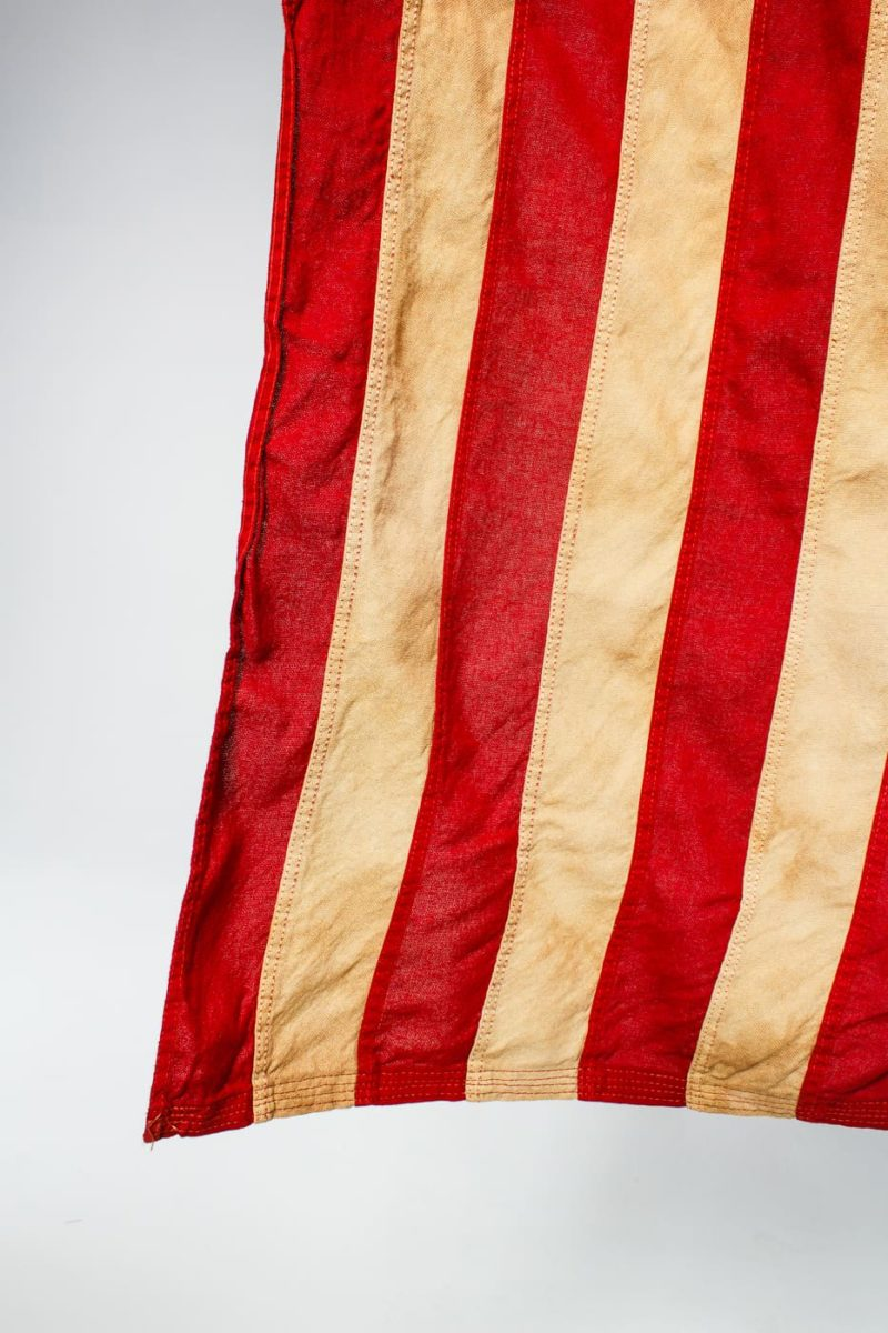 Fl014 Thirteen Colonies American Flag Prop Rental Acme