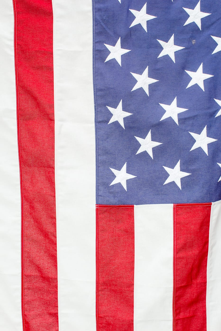 FL021 95 Foot Ford American Flag Prop Rental