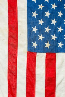 Alternate view 1 of 5 Foot Distressed Roosevelt Flag