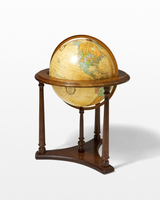 Front view of Werner Lighted Globe